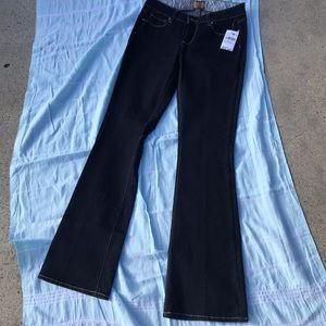 Dark Blue Paige Bootcut Jeans NWT